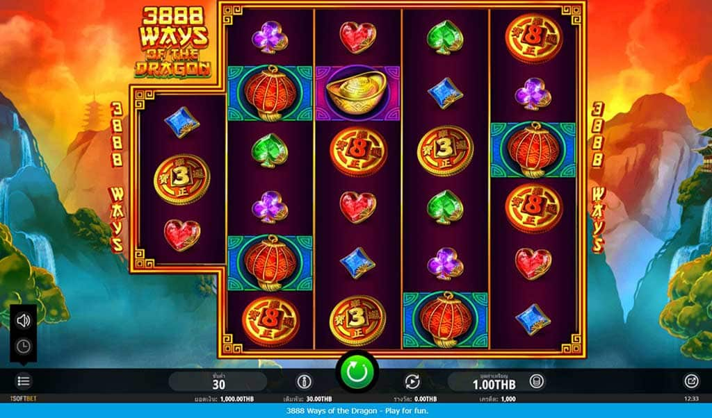 3888 ways of the dragon slot online