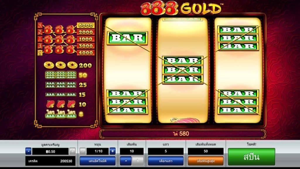 888 gold slot