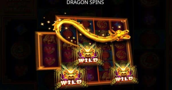 Dragon Spins เกมสล็อต 3888 ways of the dragon