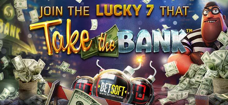 Take the Bank เกมสล็อตมาใหม่ค่าย Betsoft