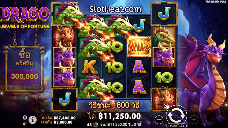 Drago Jewels of Fortune slot online
