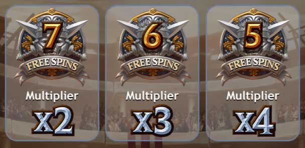 multiplier deathmatch free spins