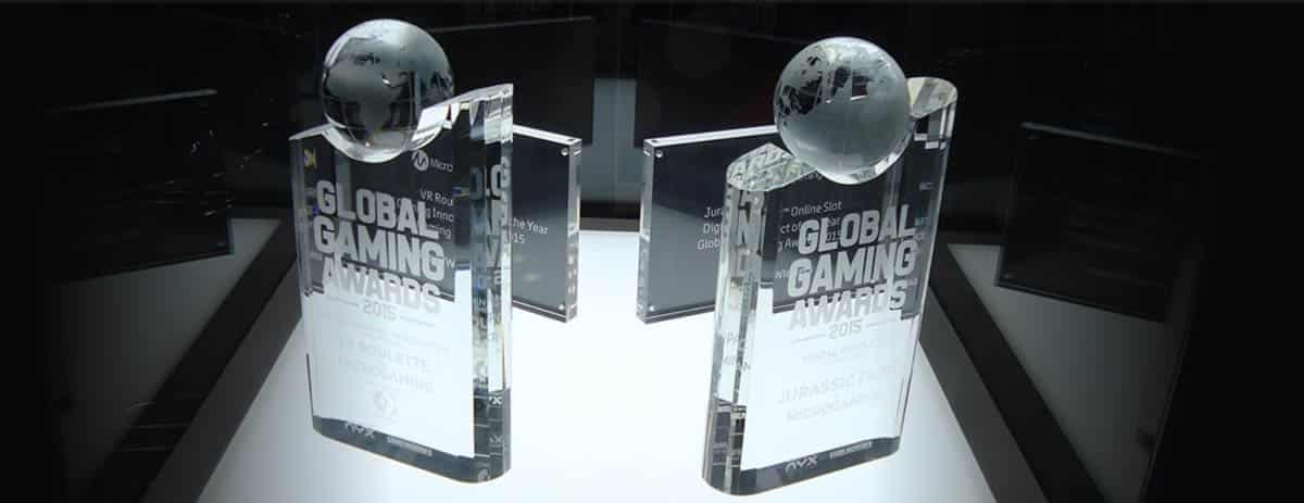 Awards of Microgaming