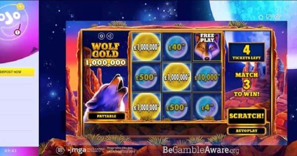 ชนะรางวัล Wolf Gold Slot 39.2 ล้านบาท