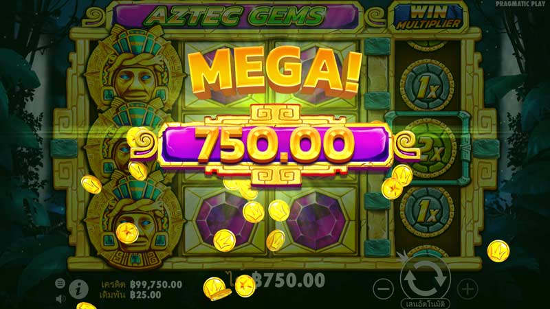 Mega Won Aztec Gems Slot