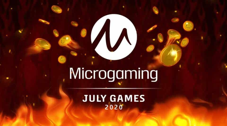 เกมส์ใหม่ของ Microgaming July 2020