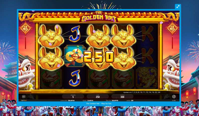 Golden Rat Slot