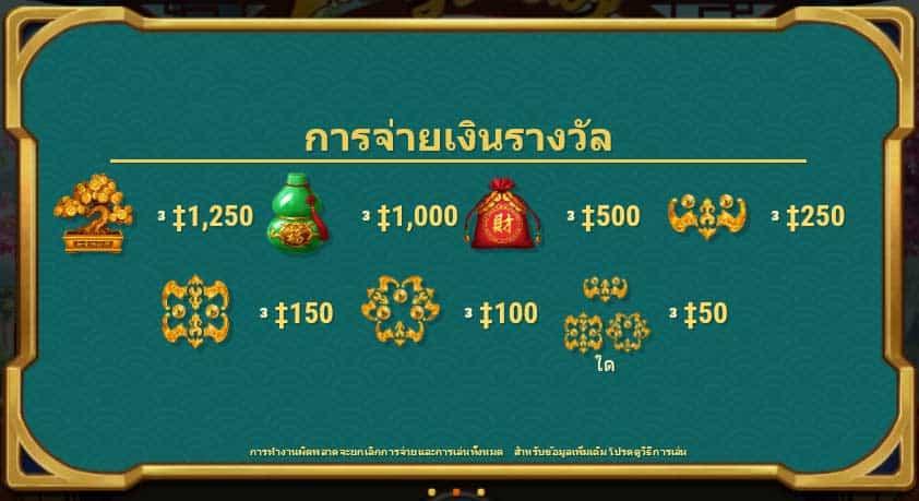 payouts symbols lucky lucky slot