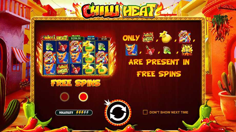chilli heat slot