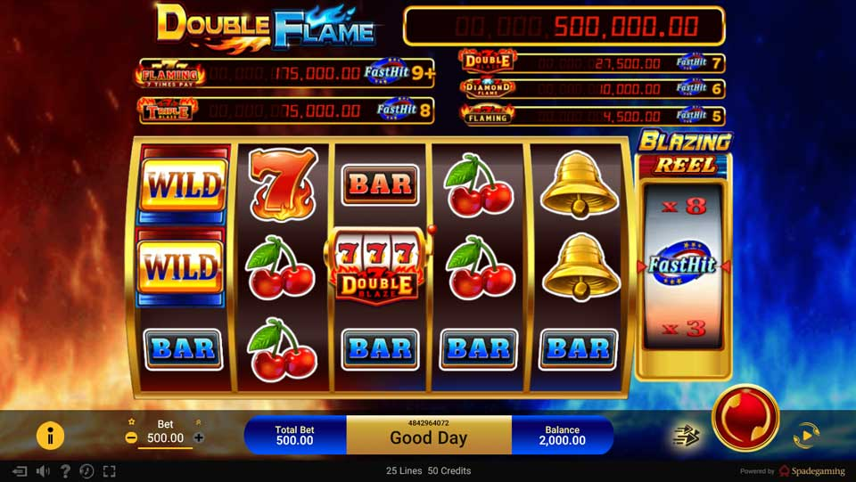 double flame slot online